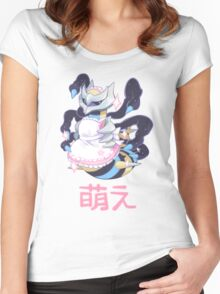 moe giratina Women's Fitted Scoop T-Shirt