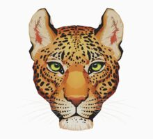 Leopard Face Kids Clothes