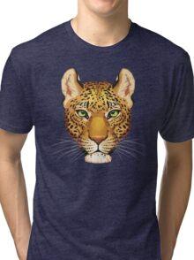 Leopard Face Tri-blend T-Shirt