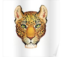Leopard Face Poster