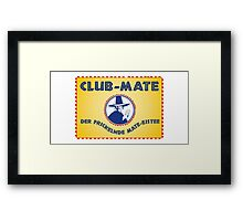 Club Mate Framed Print