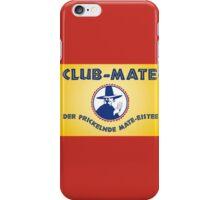 Club Mate iPhone Case/Skin