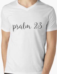 Psalm 23 Mens V-Neck T-Shirt