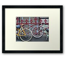 Melbourne - Locked up at the town Hall Framed Print