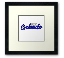 I'm So Orlando Framed Print