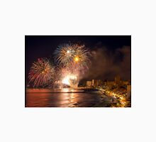 Fireworks at the Fiesta del Carmen 4 Unisex T-Shirt