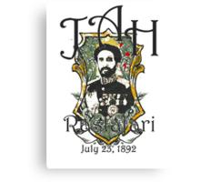 Selassie Canvas Print