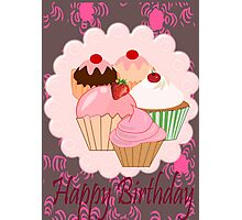 Cup Cakes (4017  Views) Photographic Print