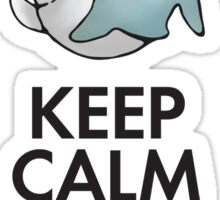 Keep calm and stay bubbly Sticker