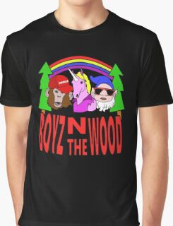 Boyz In The Wood Graphic T-Shirt