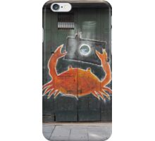 Barcelona - Crab with camera iPhone Case/Skin