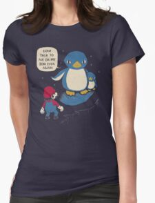 don't talk to me or my son ever again Womens Fitted T-Shirt