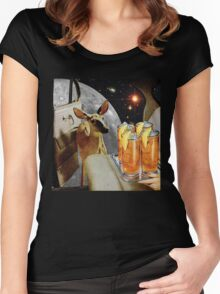 Oh, deer! Women's Fitted Scoop T-Shirt