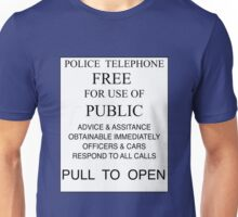Tardis - Pull to Open Unisex T-Shirt