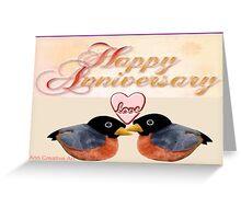 Anniversary Greetings  Greeting Card