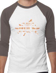 Shoes Off Rock On Men's Baseball ¾ T-Shirt