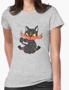 Litten is Lit! Womens Fitted T-Shirt