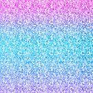 Colorful Retro Glitter And Sparkles by artonwear