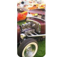 Chopped top rod iPhone Case/Skin