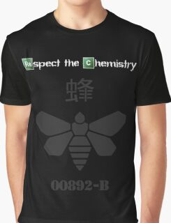 'Respect the Chemistry' - Breaking Bad (Black & Other Colours) Graphic T-Shirt