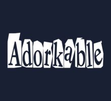 Adorkable Kids Tee