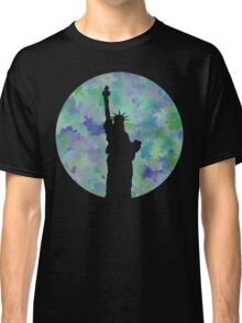 Statue of Liberty Silhouette Classic T-Shirt