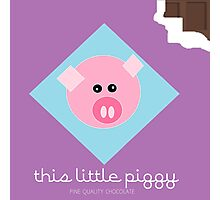 Pigs Eat Chocolate Too Photographic Print