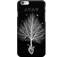 A tree feeding in the heart iPhone Case/Skin