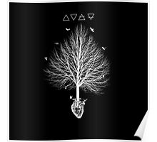 A tree feeding in the heart Poster
