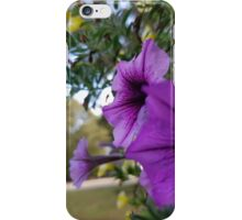 Purple Horns iPhone Case/Skin