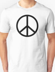 Peace Sign Hipster Fashion T-Shirt Unisex T-Shirt