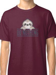 Lazy sloths Classic T-Shirt