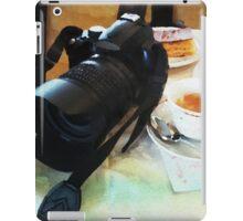 Photographers break in watercolor iPad Case/Skin