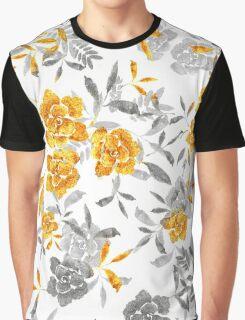 Golden Rose Graphic T-Shirt