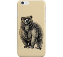 The Great Bear - A fierce protector iPhone Case/Skin