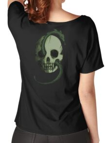 Tête de Mort - Green Women's Relaxed Fit T-Shirt