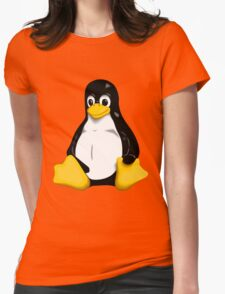 Linux Womens Fitted T-Shirt