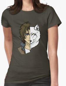 Kiba - Wolfs Rain Womens Fitted T-Shirt