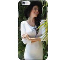 Beautiful  girl portrait outdoor iPhone Case/Skin