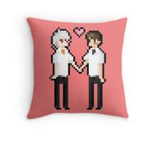 everybody finds love Throw Pillow