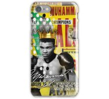 ali the greatest iPhone Case/Skin