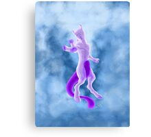 Mewtwo Canvas Print