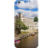 York, The River Ouse iPhone Case/Skin