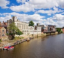 York, The River Ouse by John (Mike)  Dobson