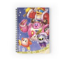 Kirby Robobot! Spiral Notebook