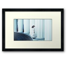 the girl is bangin Framed Print