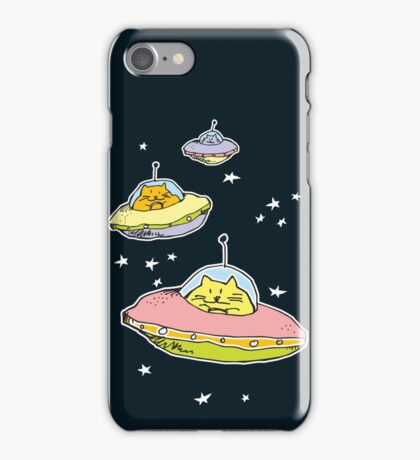 space cats iPhone Case/Skin