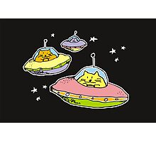space cats Photographic Print