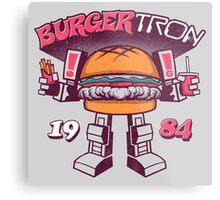 BurgerTRON Metal Print