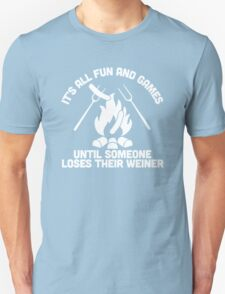 LOSES A WEINER Unisex T-Shirt